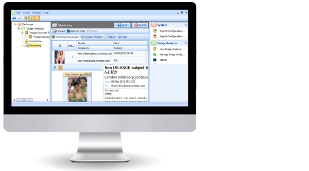 Filter pornographic and offensive images with Exclaimer Image Analyzer