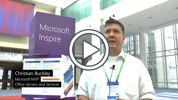 Christian Buckley (Microsoft Office Servers and Services MVP)