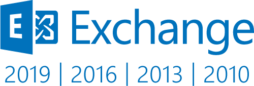 Microsoft Exchange 2019, 2016, 2013 & 2010