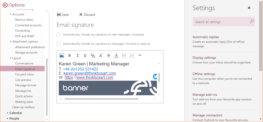 Free Email Signature Template Generator by Exclaimer