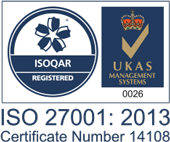 Exclaimer's ISO 27001 Certification for its Office 365 email signature management solution.