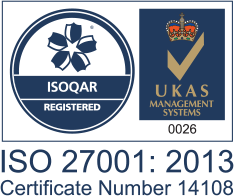 ISO 27001 for Exclaimer's G Suite email signature management service.