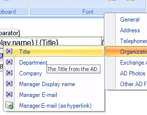 Manage Your Email Signatures - Template Editor | Exclaimer