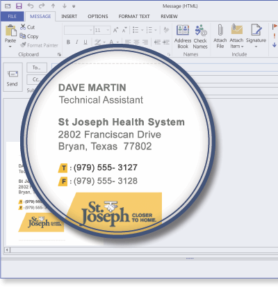 St Joseph Health System using Signature Manager Exchange Edition